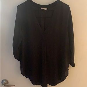 Black blouse from Lush